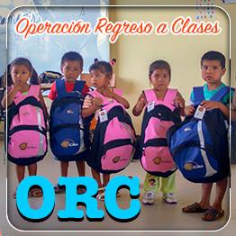 Fundación El Arca - Operación Regreso a Clases