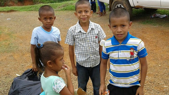 The problems that Panamanian children are facing in rural and remote areas of the country